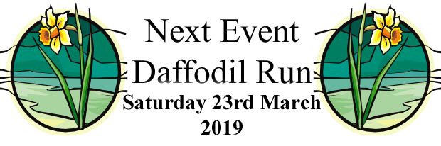 Daffodil Run Date 23 March 2019
